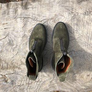 Frye boots Julia forest green